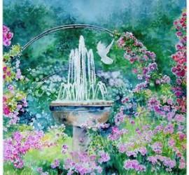aquarelle journée de la rose