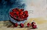 Le bol de cerises